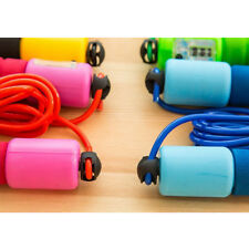 Skipping Rope Jumping Workout Fitness Adjustable Calorie Counter Jump Count LA3