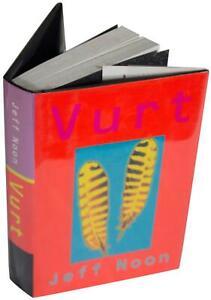JEFF NOON Vurt SIGNED w/ Sketch HC Ltd First Am Edition Arthur C. Clarke Award !