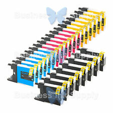 26 PACK LC71 LC75 Compatible Ink Cartirdge for BROTHER Printer MFC-J435W LC75