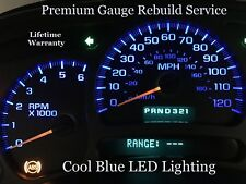 03-06 Silverado Sierra Escalade Instrument Gauge Cluster REPAIR SERVICE w/ LEDs