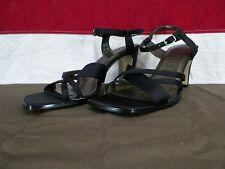 Sam & Libby Heels Stiletto Strappy Shoes Black Women's Size 9.5M