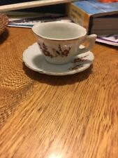 Miniature Tea Cup And Saucer Japan