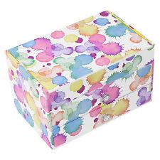 Raindrop Splash 2 Drawer Jewellery Box Childrens Organiser Case Gifts For Girls