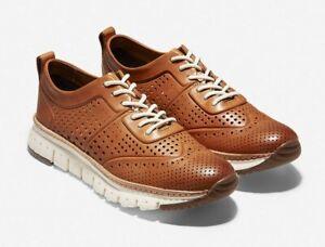 Cole Haan Mens Zerogrand C23711 Brown Fashion Sneaker Shoes British Tan 11.5