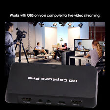 HD Pro HDMI Game Video Capture Card Record Box + Schedule recording TV Playback
