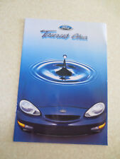 1997 Ford Taurus Ghia automobile advertising booklet