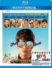 The Way Way Back (Blu-ray Disc, 2013, Includes Digital Copy UltraViolet) - NEW!!