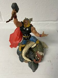 Mighty Thor Model Kit Toy Biz 1998 Painted and Assembled!