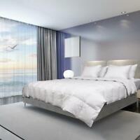 Goose Down feather Comforter White Duvet Insert Corner Tabs Queen/Twin/King Size