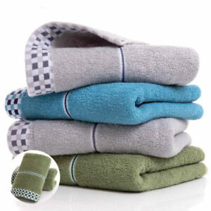 Towel Hand Small Cotton Daily Face Cloth 35 x 75 cm Towels Water Uptake Guest