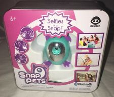 NEW Wowwee Snap Pets Dog Lgt Blue Factory Sealed Selfies Stocking Stuffer