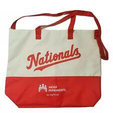 Washington Nationals MLB Baseball Tote Bag Stadium Giveaway SGA Curly W