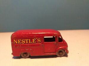 MATCHBOX LESNEY  COMMER 30 cwt NESTLE VAN,  69a, c1959