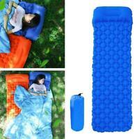Inflatable Air Mattress Outdoor Tent Mats Camping Travel Pads Portable- X4U4