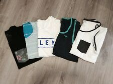 LOT 5 OAKLEY RIP CURL DC SHOES HOLLISTER TANK TOP SHIRT SLEEVELESS