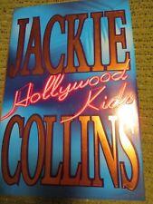 "Original 1994 JACKIE COLLINS Hollywood Kids Hardcover 9.5X6.5"" 525 pgs 402"