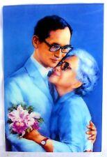 Bild picture König King Bhumibol Adulyadej RAMA IX Thailand 15x10 cm  (s14