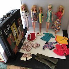 Mattel Vintage 1970s Malibu Barbie Francie Dolls & More Clothing Case Lot