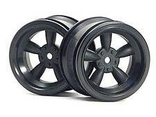 HPI Vintage 5-Spoke 31mm Black 6mm Offset Wheels  HPI3821
