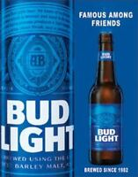 Bud Light - Famous Dilly Dilly Tin Metal Sign 13 x 16in