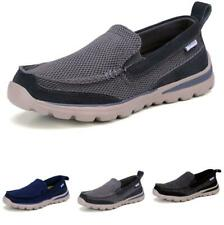 40-45 Mens Canvas Pumps Loafers Shoes Driving Moccasins Flats Non-slip Casual D