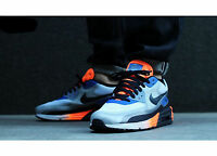 Nike Air Max Lunar 90 C3.0 shoe size 11 631744-104 White Dark Obsidian Orange