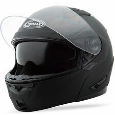 GMAX GM64 Modular Helmet (Flat Black) Choose Size