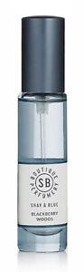 Shay & Blue BLACKBERRY WOODS Ladies/Women's Natural Perfume Spray 10ml