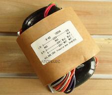 220V 100W r-core transformer for audio ampli amplificateur micros dac 20V+20V