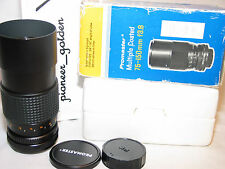 Promaster MC auto 75-150mm f/3.8  ZOOM LENS for Pentax 35mm SLR camera EXCELLENT