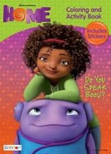 NEW Dreamworks Home Do You Speak Boov? Coloring & Activity Book w/ 30+ Stickers