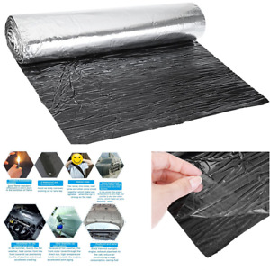 7MM Car Engine Hood Heat Cushion Firewall Foam Sound Deadener Insulation Mat