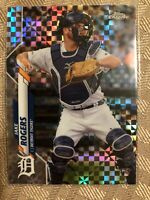 2020 Topps Chrome Xfractor Refractor Jake Rogers Rookie RC Detroit Tigers SP