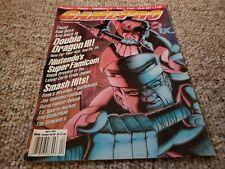GamePro Magazine April 1991. Double dragon III, The Simpson's NES, Sega, Atari
