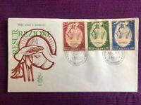 VATICANO 1969 FDC Venetia  N°103/V PASQUA VIAGGIATE