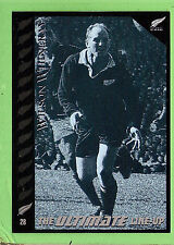 1995 NEW ZEALAND  ALL BLACKS RUGBY UNION CARD  #28  WILSON  WHINERAY