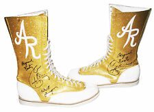 WWE ALBERTO DEL RIO RING WORN SIGNED BOOTS WITH PIC PROOF 4