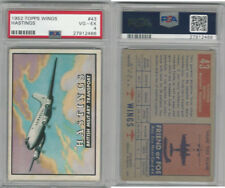1952 Topps, Wings, #43 Hastings British Transport Airplane, PSA 4 VGEX