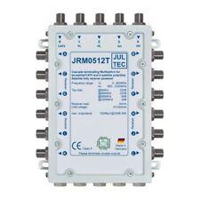 Jultec JRM 0512T Sat-Multischalter 12 Teilnehmer | 1 Satellit, Endkaskade, HDTV