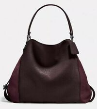 NWT Coach 20334 Edie Mixed Leather Shoulderbag