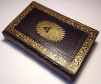(c1816) Book Of Common Prayer, Embellished With Elegant Engravings, Rare Antique