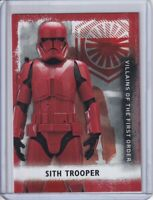 2020 Star Wars Rise Skywalker Series Two Villians Red #VF9 Sith Trooper /99 2