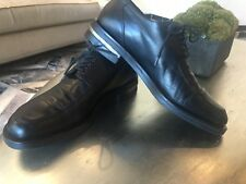 Authentic Baldinini Men's leather dress  shoes US 10.5 EU43 Italy.Pre-Owned.