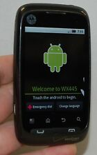 Motorola WX445 Citrus Android Cell Phone Verizon BLACK bluetooth WiFi camera web