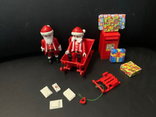 *** Playmobil - Lot Noel , cadeaux, enveloppe boite aux lettres ***