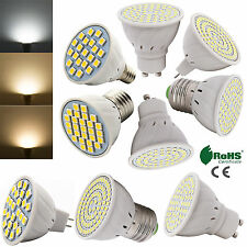 3528/5050SMD LED Spot Bulb Lamp Light 3/4/5/6/7W 220V DC12V Cool/Warm/Day White