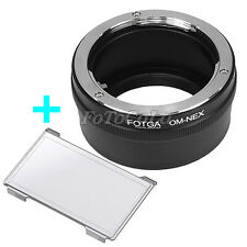 FOTGA Adapter for Olympus OM lens to Sony NEX-3 NEX-5 5N 5C NEX-6 7 VG10 E mount