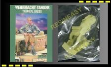Free Shipping Warriors 35293 1/35 WWII Wehrmacht Tanker Tropical Dress resin kit