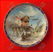 """World War II: A Rememberance Collectors Plate """"The Battle of the Philippines"""""""
