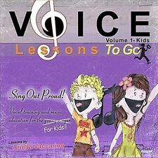 Voice Lessons To Go for Kids! v.1- Sing Out Proud!, Ariella Vaccarino, New Singl